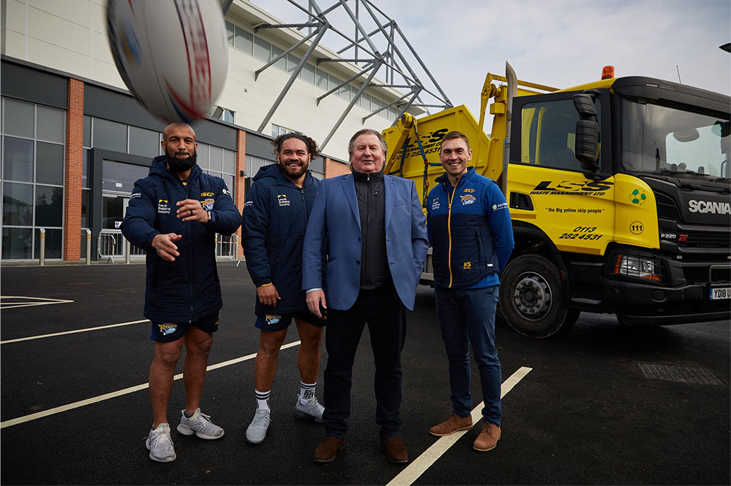 LSS SIGNS UP WITH LEEDS RHINOS FOR 15TH CONSECUTIVE SEASON