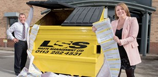 LSS WAVES GOODBYE TO WASTE PAPER
