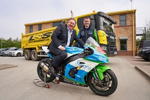 LSS WASTE CONFIRMS ANOTHER FAST TRACK SEASON OF SPONSORSHIP WITH ROAD RACING STAR DEAN HARRISON